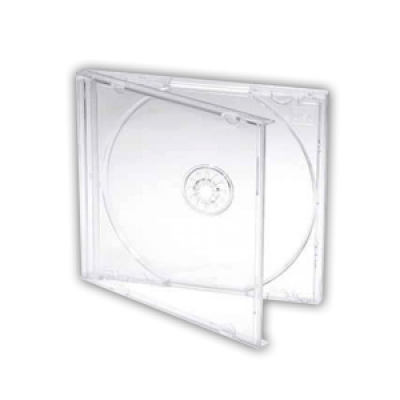 Standard CD Jewel Case - Clear Tray